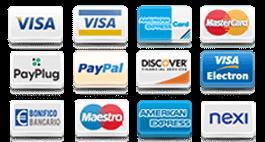 tipi di pagamenti disponibili su unikem